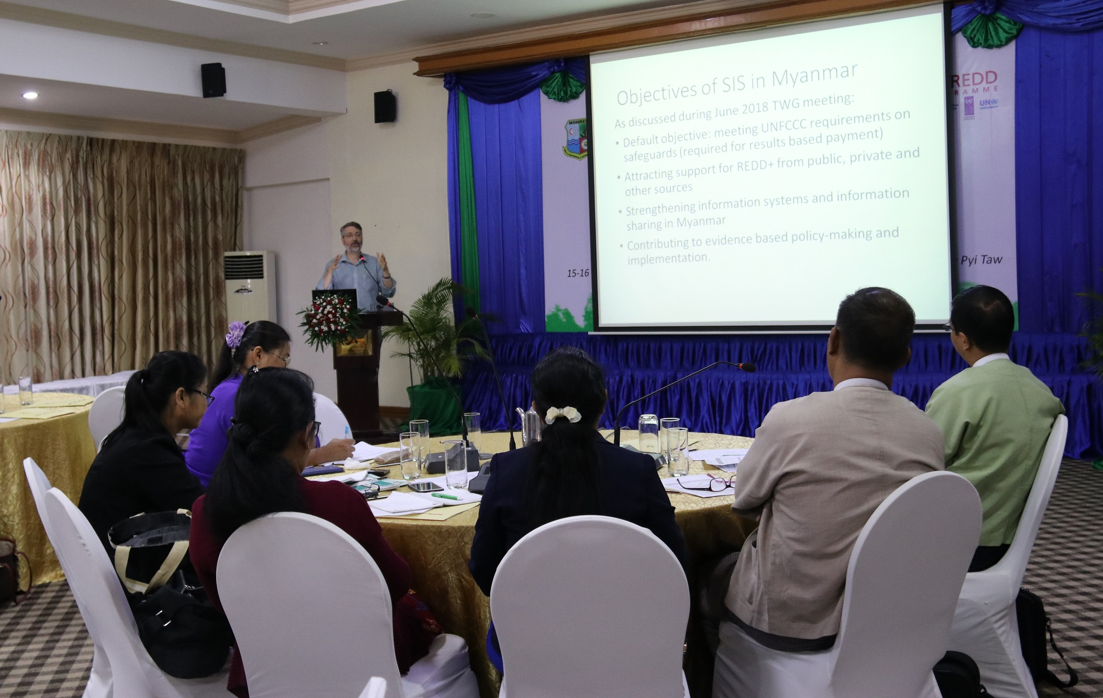 Myanmar SIS Information Needs Workshop