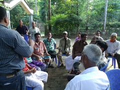 Focus group discussion on forest govenance - Modhupur bangladesh September 2013