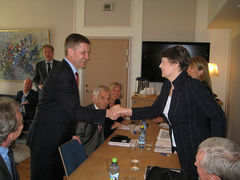UNDP Administrator meets with International Development Minister of Norway, Mr Erik Solheim
