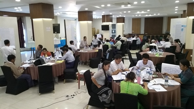 Myanmar SOI Workshop participants