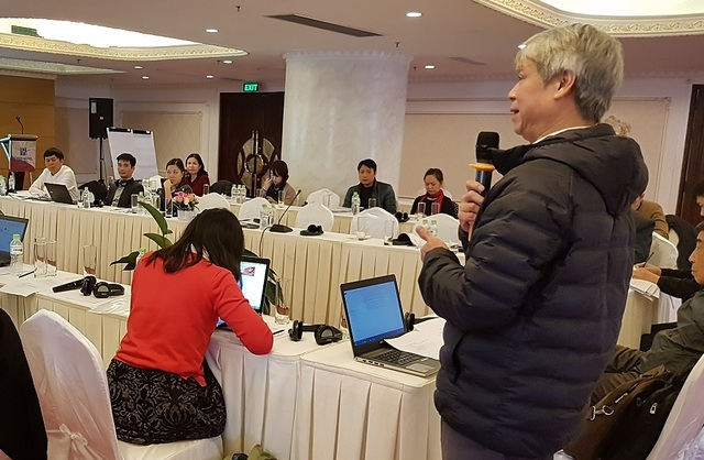 Viet Nam STWG safeguards meeting participants Feb 2018