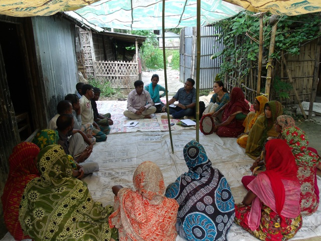 Focus group discussion on forets governance with Forest-dependent men and women in Sreemongol Bangladesh  September 2013